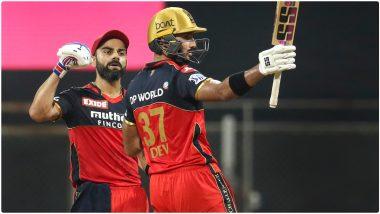 RCB vs RR IPL 2021 Match 16: 'विराटसेने'ची विजयी घोडदौड कायम, कोहली- शतकवीर पडिक्क्लच्या वादळी खेळीमुळे बेंगलोरचा राजस्थानला 10 विकेट्सने धोबीपछाड