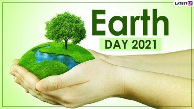 Happy Earth Day 2021 Wishes: जागतिक वसुंधरा दिनाच्या शुभेच्छा WhatsApp Status, Facebook Messages, GIFs द्वारा देत व्यक्त करा कृतज्ञता!