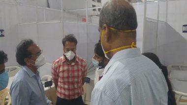 BKC Covid Vaccination Centre: कोरोना स्थितीचा आढावा घेण्यासाठी केंद्राचे पथक मुंबईतील बीकेसी कोविड लसीकरण केंद्रात दाखल