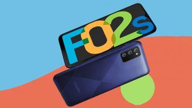 Samsung Galaxy F02s ऑनलाईन शॉपिंग साइट फ्लिपकार्टवर झाला लिस्ट, आज भारतात होणार लाँच