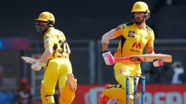 CSK vs RCB IPL 2021 Match 19: Faf du Plessis याची अर्धशतकी खेळी, जडेजाचा षटकारांचा पाऊस; चेन्नईचे आरसीबीला 192 धावांचं तगडंआव्हान