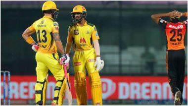 CSK vs SRH IPL 2021 Match 22: चेन्नईचा विजयी 'पंच', रुतुराज गायकवाड-फाफ डु प्लेसिसचे मॅच विनिंग अर्धशतकाने हैदराबादवर 7 विकेट्सने मात