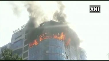नवी मुंबईतील वाशी येथे एका इमारतीत आग, अग्निशमन दलाकडून आगीवर नियंत्रण मिळवण्याचे कार्य सुरु