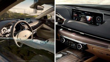 Genesis ने उतरवली शानदार इलेक्ट्रिक कार G80, सिंगल चार्जमध्ये 500km अंतर कापणार