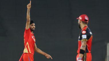RCB vs PBKS IPL 2021 Match 26: राहुलचीधमाकेदार खेळी, Harpreet Brar चीदमदार गोलंदाजी;पंजाबने लावला'विराटसेने'च्याविजयी घोडदौडवर ब्रेक