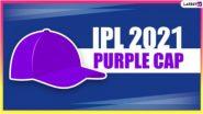 IPL 2021 Purple Cap List Updated: आयपीएल 14 च्या 6 सामन्यांनंतर हर्षल पटेलच्या डोक्यावर पर्पल कॅप