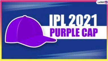 IPL 2021 Purple Cap List Updated: दिल्लीच्या आवेश खानची चांगली कामगिरी, पर्पल कॅपच्या यादीत दुसऱ्या क्रमांकावर; बेंगलोरचा हर्षल पटेल अव्वल स्थानी कायम