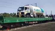 Oxygen Express: देशातील पहिली 'ऑक्सिजन एक्सप्रेस' विशाखापट्टणमला रवाना; 5 दिवसांत महाराष्ट्राला मिळणार 110 टन द्रवरूप प्राणवायू