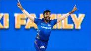 MI vs SRH IPL 2021 Match 9: Jasprit Bumrah याचा मोठा धमाका, आयपीएलमध्ये चौथ्यांदा केली 'ही' खासकमाल