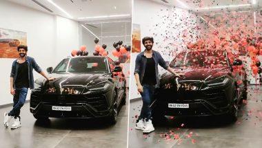 कोरोना विषाणूवर मात केल्यानंतर अभिनेता Kartik Aaryan ने खरेदी केली Lamborghini Urus; किंमत फक्त 4.5 कोटी (See Video)