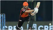 SRH Vs RR, IPL 2021: जेसन रॉय, केन विल्यमसन यांची धमाकेदारी पारी, सनरायझर्स हैदराबादचा राजस्थान रॉयल्सवर 7 विकेट्सने विजय