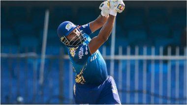 MI vs CSK IPL 2021 Match 27: Kieron Pollard ने यंदाच्या हंगामातील ठोकले वेगवान अर्धशतक, पृथ्वी शॉला टाकले पिछाडीवर