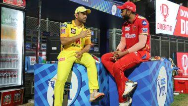 IPL 2021: चेन्नई-पंजाब साम्यानंतर MS Dhoni नेShahrukh Khan याला दिल्या टिप्स, व्हायरल फोटोची सोशल मीडियावर चर्चा