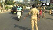COVID19 नियंत्रणासाठी मुंबई पोलिसांकडून वाहनांची कडक तपासणी