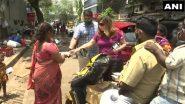 मुंबई मधील NGO कडून गरजूंना अन्नवाटप