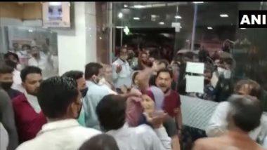 नालासोपारा येथील रुग्णालयात ऑक्सिजनच्या अभावामुळे 7 कोरोनाबाधित रुग्णांचा मृत्यू झाल्याने नातेवाईकांकडून संताप व्यक्त
