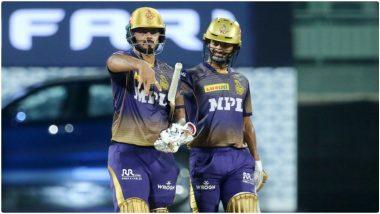 SRH vs KKR IPL 2021: Nitish Rana याचा सॉलिड शो, राहुल त्रिपाठीचे झंझावाती अर्धशतक; सनरायझर्सला विजयासाठी 188 धावांचं टार्गेट