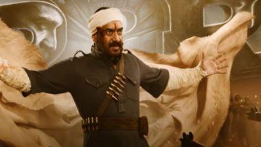 Ajay Devgn RRR Look: अजय देवगण चा 'RRR' लूक त्याच्या बर्थ डे  दिवशी झाला रिलीज (Watch Video)