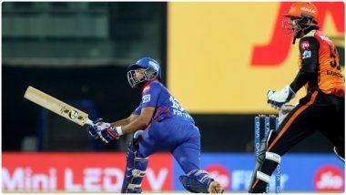 SRH vs DC IPL 2021 Match 20: Prithvi Shaw याची अर्धशतकी खेळी, दिल्लीचे सनरायझर्स हैदराबादला विजयासाठी 160 धावांच आव्हान