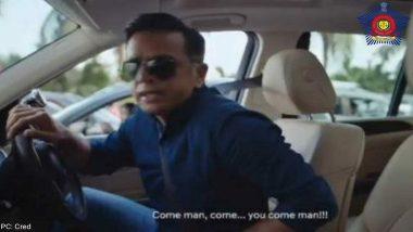 Rahul Dravid च्या जाहिरातीतील फोटो शेअर करत Mumbai Police नी सांगितले मास्क घालण्याचे महत्त्व