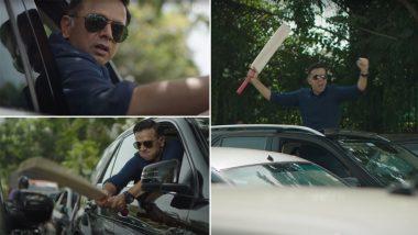 BTS of Rahul Dravid's Viral Video: राहुल द्रविडने सिग्नलवर वाहनांची केली तोडफोड? 'द वॉल'ची जाहिरात सोशल मीडियावर प्रचंड व्हायरल