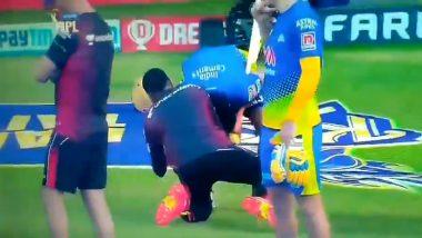 IPL 2021: Suresh Raina ने धरले Harbhajan Singh याचे पाय, चेन्नई-कोलकाता लढतीपूर्वी घडलेल्या क्षणाचा पहा हृदयस्पर्शी व्हिडिओ