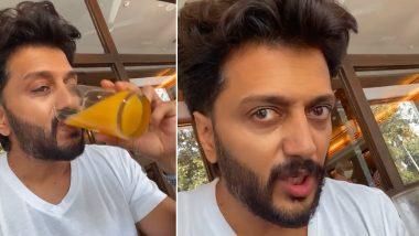 Riteish Deshmukh रोज सकाळी उशिरा उठल्यावर काय खायला मिळते?, अभिनेत्याने सोशल मिडियावर शेअर केला खास व्हिडिओ