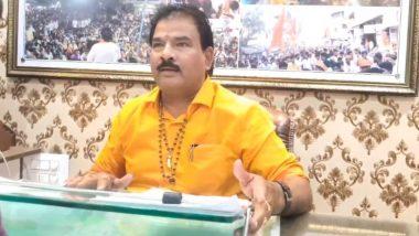 """Shiv Sena MLA Sanjay Gaikwad: शिवसेना आमदार संजय गायकवाड यांचे वक्तव्य म्हणाले """"करोनाचे जंतू सापडले असते तर देवेंद्र फडणवीस यांच्या तोंडात कोंबले असते"""""""