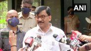 Shiv Sena: राजकीय गांजाडयांना मराठी माणूस शिवसेना भवनाच्या फुटपाथवर चोपलयाशिवाय राहणार नाही- संजय राऊत
