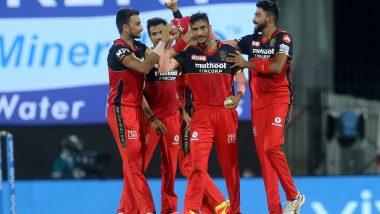 SRH vs RCB IPL 2021: Shahbaz Ahmed याची जादू, अटीतटीच्या सामन्यात विराटच्या चॅलेंजर्सचा 'रॉयल' विजय, सनराझर्स हैदराबादवर 6 धावांनीं केली मात