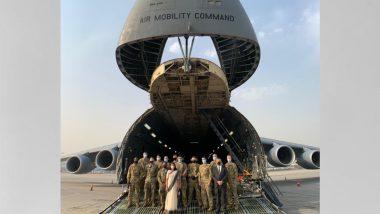 US India Dosti: कोरोना संकटात अमेरिकेकडून भारताला वैद्यकीय मदत; मदतीची पहिली फेरी रवाना