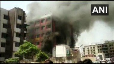 Ahmedabad: कृष्णा नगरमधील अंकुर शाळेत लागलेली आग आटोक्यात