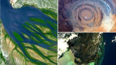 NASA ने अंतराळातून शेअर केले पृथ्वीचे आश्चर्यचकित करणारे फोटोज; See Photos