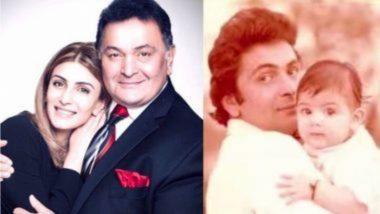 Rishi Kapoor's First Death Anniversary: ऋषी कपूर यांच्या पहिल्या पुण्यतिथीनिमित्त मुलगी रिद्धिमा कपूर साहनी ने शेअर केली भावनिक पोस्ट