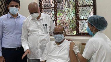 Sharad  Pawar यांनी सिल्वर ओक वरच घेतला कोविशिल्डचा दुसरा डोस; World Health Day च्या निमित्ताने लसीकरणात नागरिकांनी सहभागी होण्याचं आवाहन