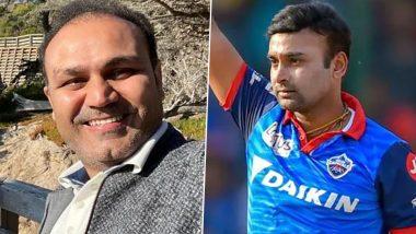 IPL 2021: 'वीरू भाई! माझा पगार वाढवून द्या!' मुंबईच्या पलटनला लोळवणाऱ्या Amit Mishra ने केली होती मागणी, Virender Sehwag ने सुनावला मजेशीर किस्सा