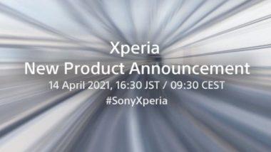 Sony लॉन्च करणार नवा Xperia स्मार्टफोन, येत्या 14 एप्रिलला आयोजित करणार कार्यक्रम