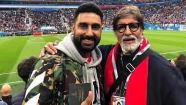 The Big Bull सिनेमा पाहून Amitabh Bachchan यांची Abhishek Bachchan ला कौतुकाची थाप; सोशल मीडिया पोस्टद्वारे व्यक्त केल्या भावना