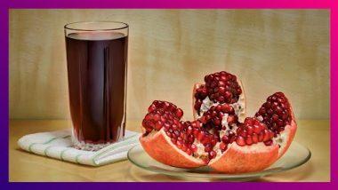 Pomegranate Juice Benefits: फक्त रक्त वाढवण्यासाठी नाही तर अनेक गोष्टींवर उपयोगी आहे डाळिंबाचा रस; जाणून घ्या फायदे