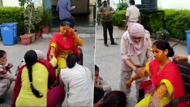 Rajasthan: लॉकडाऊनमुळे महिला कॉन्स्टेबलला मिळाली नाही रजा; पोलिस ठाण्यातचं लावली हळद, पहा फोटो
