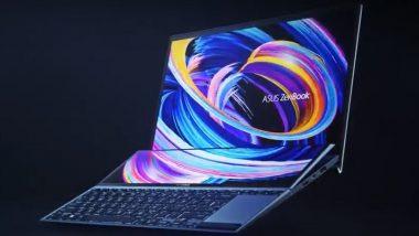 Asus कंपनीने भारतात लाँच केले ZenBook Duo 14 आणि ZenBook Duo Pro 15 लॅपटॉप्स, जाणून घ्या किंमत आणि खास वैशिष्ट्यांविषयी