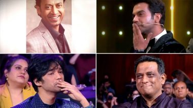 दिवंगत Irrfan Khan ला Filmfare Awards 2021 मध्ये Ayushmann Khurrana द्वारा कवितेतून इमोशन ट्रिब्युट; Babil Khan च्या अश्रूंचा फुटला बांध (Watch Video)