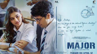 Saie Manjrekar चा 'Major' चित्रपटातील फर्स्ट लूक आला समोर, चाहत्यांनी सोशल मिडियाद्वारे केले भरभरून कौतुक