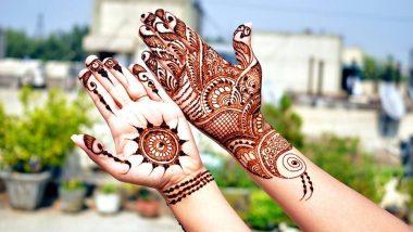 Gudi Padwa 2021 Mehandi Design: हिंदू नववर्ष, गुढी पाडव्याच्या दिवशी हातावर काढा 'या' सोप्या आणि सुंदर मेहंदी डिझाईन्स