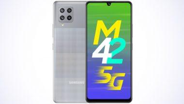 Samsung Galaxy M42 5G भारतात लॉन्च; जाणून घ्या दमदार स्पेसिफिकेशन्स असलेल्या स्मार्टफोनची किंमत