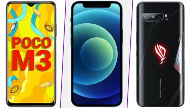 Gudi Padwa & Ugadi 2021 Discounts on Mobiles: गुढीपाडव्याच्या निमित्ताने मोबाईल किंमतीवर 31 हजारांपर्यंतची सूट;Apple,RoG 3, Realme 7 अशा अनेक फोन्सचा समावेश