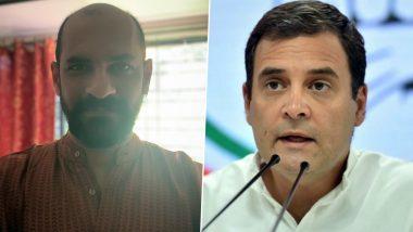 'Rahul Gandhi यांनी बंगालमधल्या प्रचारसभा रद्द करण्याचा घेतलेला निर्णय हा अत्यंत धाडसी', अशा शब्दांत 'या' मराठी दिग्दर्शकाने केले कौतुक, पाहा ट्विट