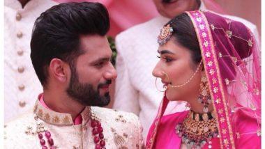 Rahul Vaidya-Disha Parmar यांचे झाले लग्न? जाणून घ्या नवविवाहित जोडप्याच्या वेषातील व्हायरल फोटोमागचे सत्य