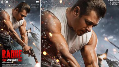 Salman Khan च्या 'Radhe' चित्रपटाने आंतरराष्ट्रीय बॉक्स ऑफिसवर केली इतकी कमाई