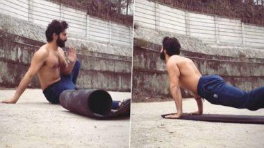 Varun Dhawan Fitness Video: भेडीया चित्रपटाच्या सेटवर वर्कआऊट करताना दिसला वरूण धवन; सोशल मीडियावर शेअर केला व्हिडिओ
